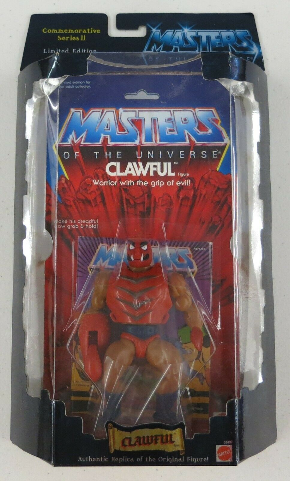 Clawful - 2001 Masters of the Universe Commemorative Series 2 2 2 d1aee3