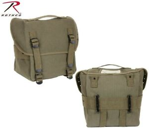 a60593d36792 Vintage Military Style Butt Pack W   Alice Clips Cotton Canvas ...