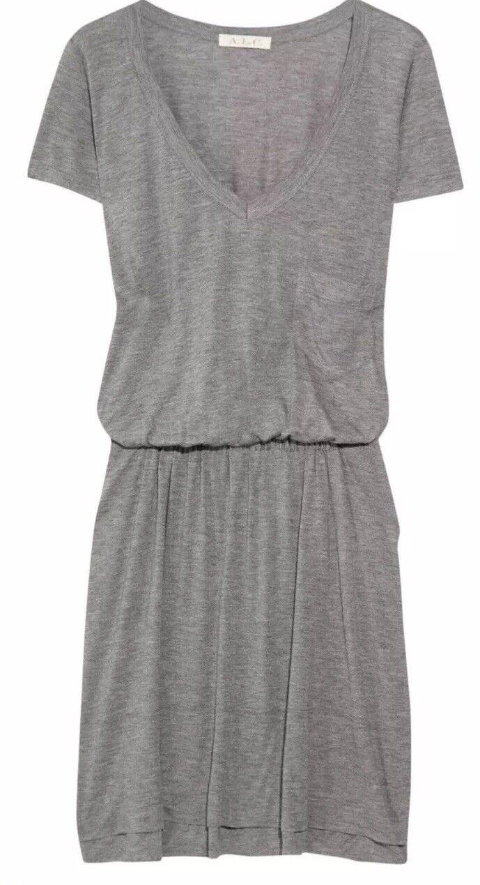 A.L.C. Cate Jersey T-shirt Dress  New Small Runs Big