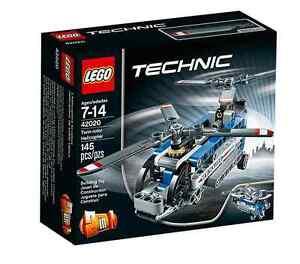 lego technic 42020 doppelrotor hubschrauber klein twin. Black Bedroom Furniture Sets. Home Design Ideas