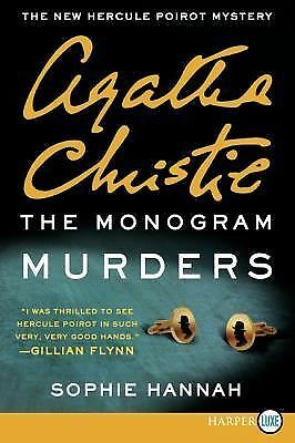 The Monogram Murders by Sophie Hannah and Agatha Christie (2014, Paperback,...