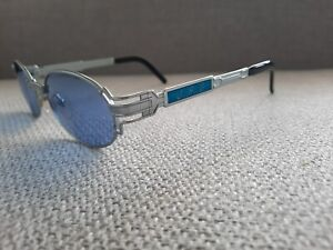 Jean-Paul-Gaultier-JPG-Vintage-Sunglasses-58-5105-Blue-Element-Ocean-Blue-Lens
