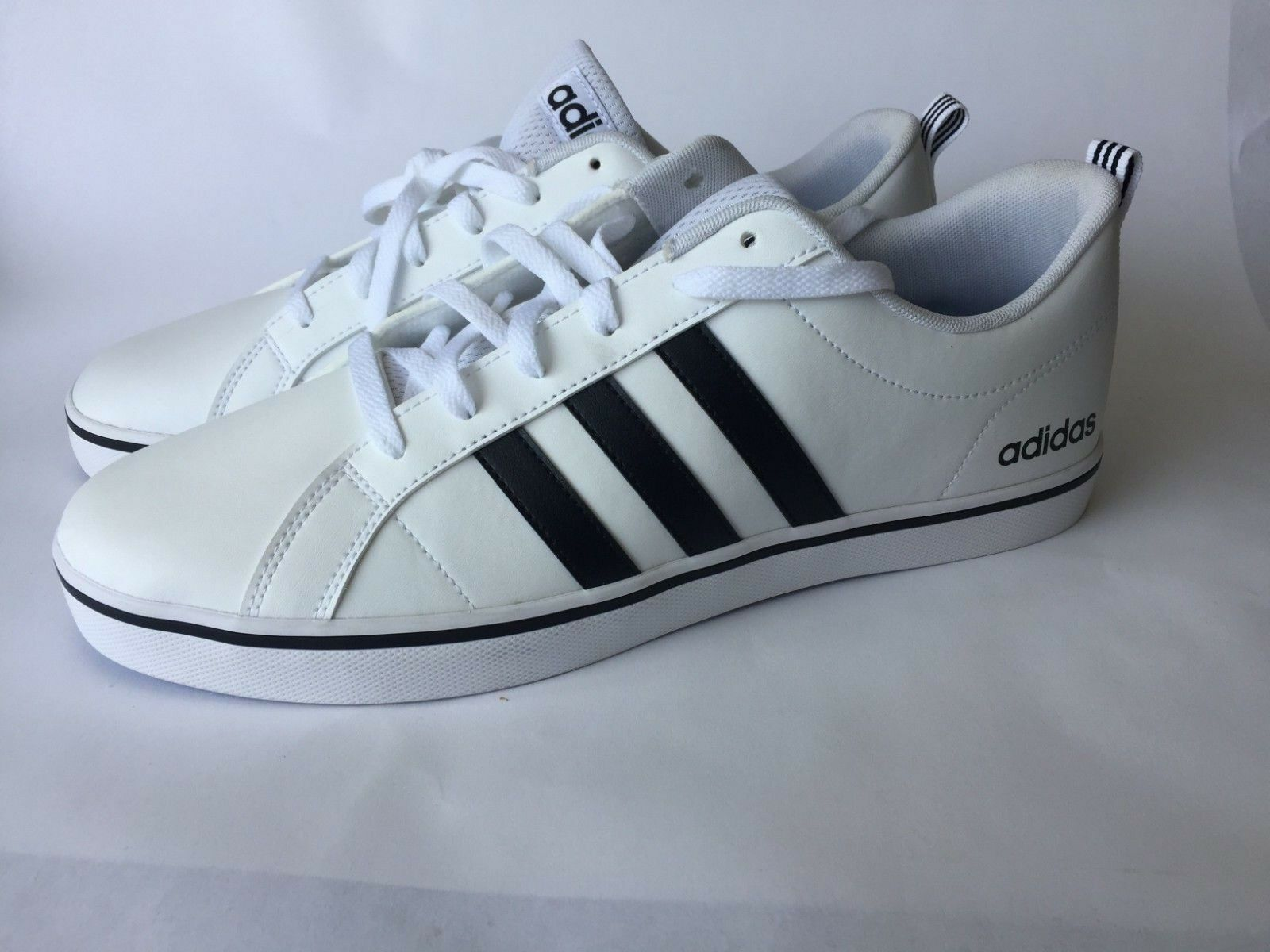 Adidas Neo Pace Mens White/Black AW4594 Classsic Tennis Shoe Comfortable The most popular shoes for men and women