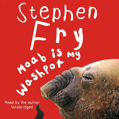 1 of 1 - Moab is My Washpot by Stephen Fry (CD-Audio, 2010) posts from AUS.