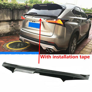 """""""Factory AR Style"""" GlossBlack Trunk Spoiler Fit For Lexus NX 300h 300 200t 15-20"""