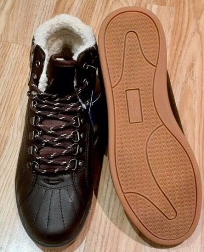Women Ladies Fur Ankle Hi Top Trainer Sneaker Lace Boot Shoe Size