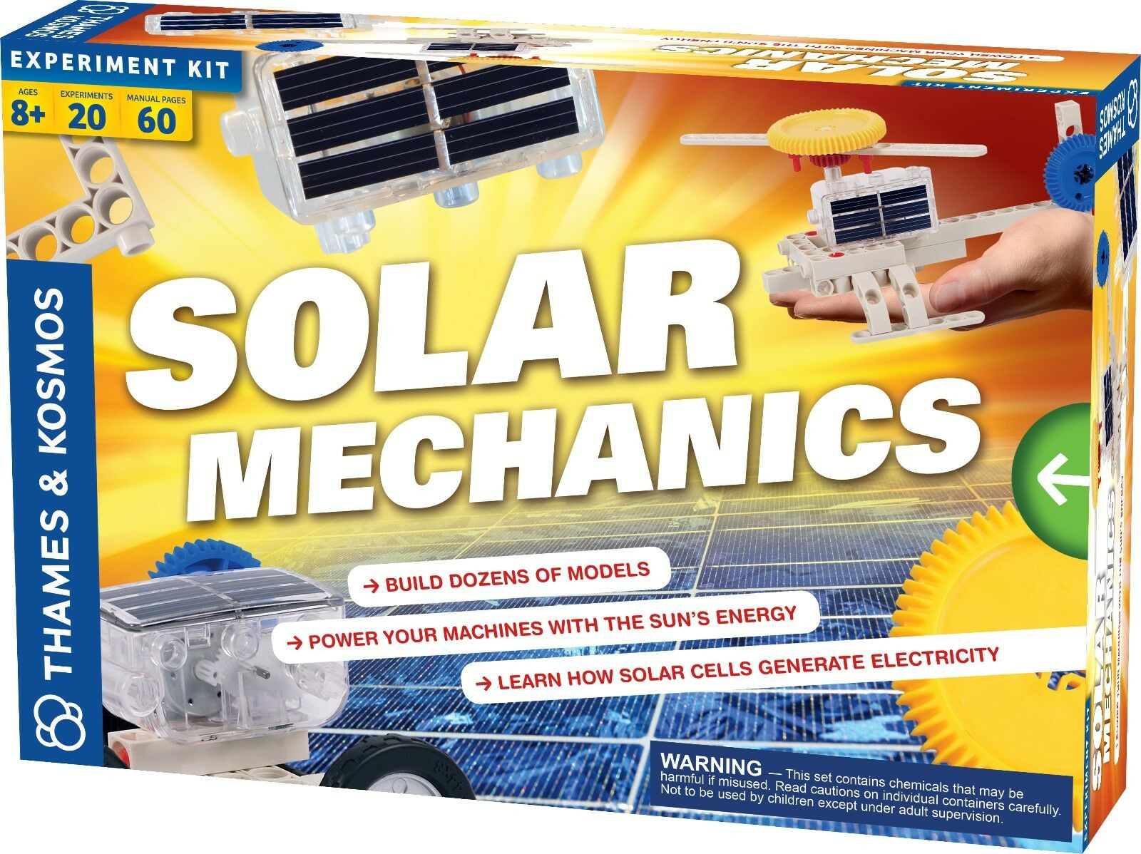Thames and Kosmos Solar Mechanics Science Kit