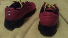 Ferrari Fila sneakers evergrind red sports collectors vintage tennis shoes 9.5