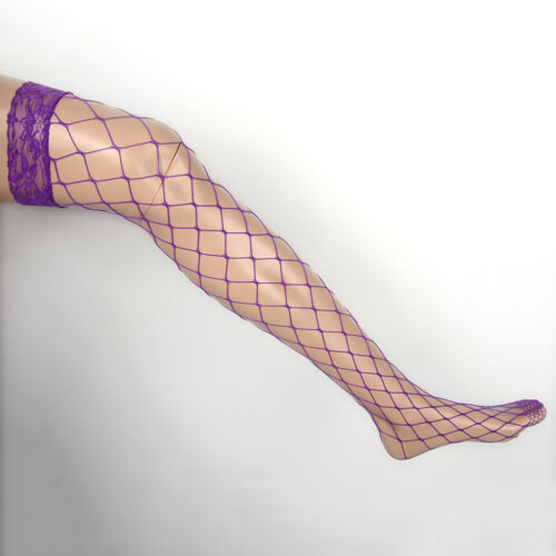 Fashion Ladies Sheer Tights Stay Up Thigh High Stockings Lace Top Pantyhose Sock