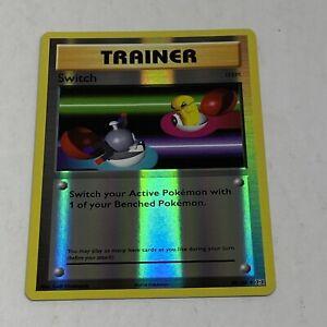 Pokemon Card XY Evolutions 88//108 Switch Item  Reverse Holo Uncommon