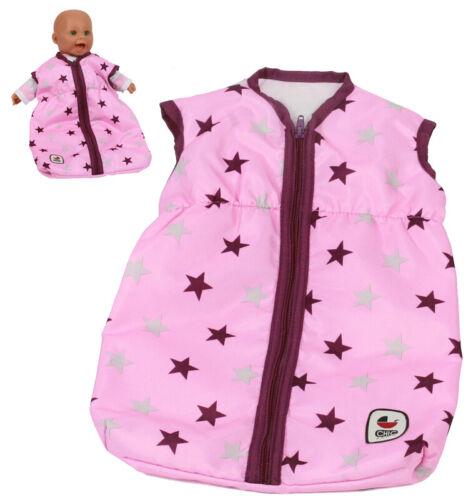 Bayer Chic 2000 bambole Sacco a pelo Stars bromo mirtillo
