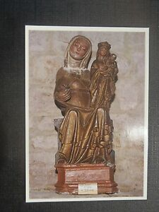 CPM-Church-Parish-Saint-Stone-of-the-village-Sainte-Anne-Statue-of-XIVe-s