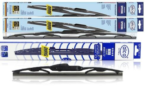 Renault Laguna 2001-2007 quality alca Germany wiper blades front and rear