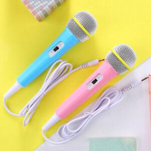 Children-wired-microphone-toy-musical-instrument-karaoke-singing-kid-music-toyM-amp