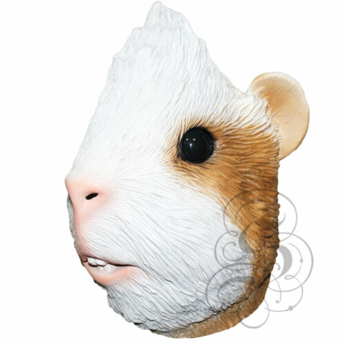 Latex Animal Realistic Guinea Pig Fancy Dress Costume Halloween Masks NEW
