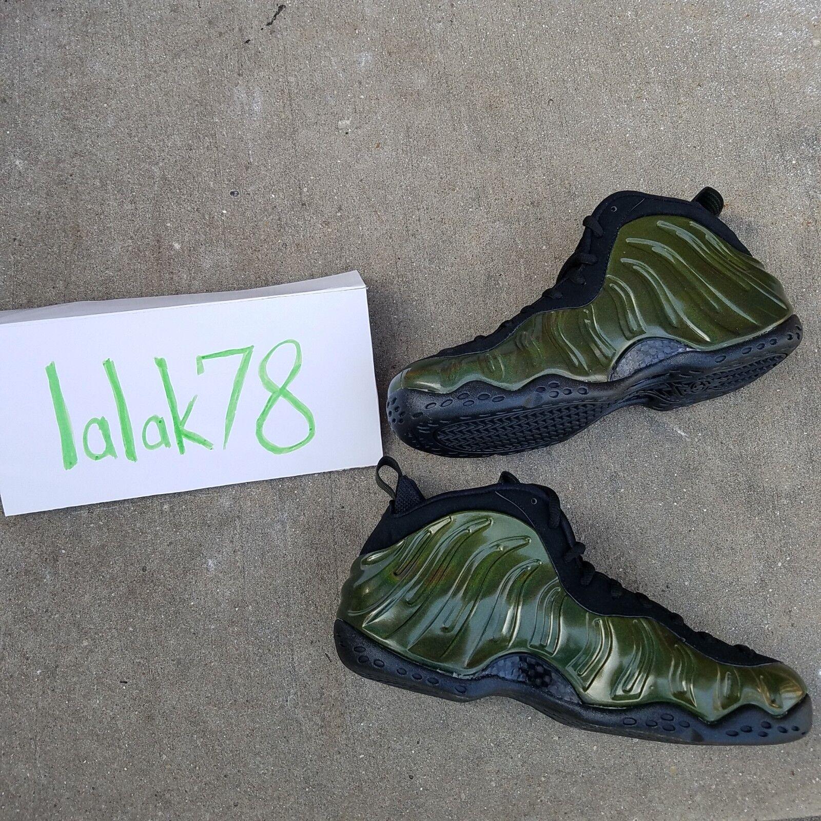 """Nike Air Foamposite One """"Legion Green"""" Men's Size 8.5 DS"""