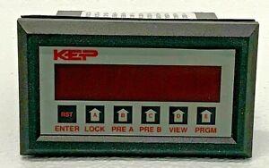 KEP INT69RTAL1 V-41 Electric Counter 110VAC 50/60Hz 12-24VDC 258D