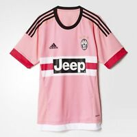 Adidas Juventus Maglia Away Jersey Soccer Jeep - Rosa Pink - S12846 - S12852