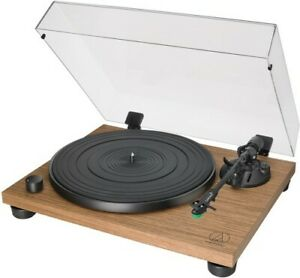 Audio-Technica-AT-LPW40WN-Fully-Manual-Belt-Drive-Turntable-Wood-Base