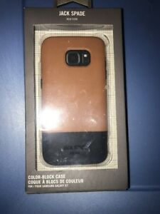 Lot-Of-3pc-JACK-SPADE-Samsung-Galaxy-S7-Wrap-Case-Cover-Fulton-Tan-Navy-Brown
