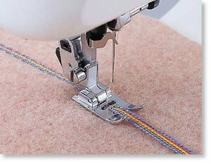 Brother SA157 7mm Cording Foot 5 hole for all low shank & snap-on sewing machine