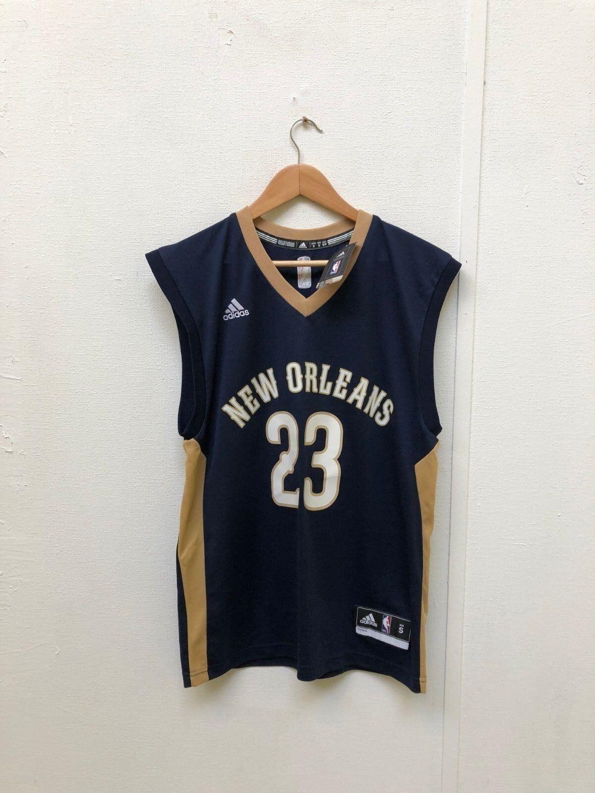 Adidas Men's NBA New Orleans Pelicans 2018 Away Jersey - Small - Davis 23 - New