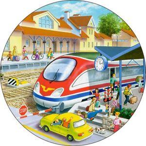 Lokomotive-Zug-Zubehoer-Essbar-Tortenbild-Party-Deko-Muffinaufleger-Eisenbahn-neu
