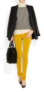Jeans Stretch Low Velvet Rise Sz 25 Sennep Nuværende New elliott 198 k2 Skinny YqRB4C