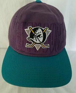 Vintage-Starter-Anaheim-Mighty-Ducks-NHL-Snapback-Hat-Purple-Turquoise