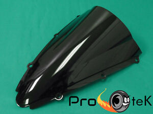 Bodywork & Frame ABS Smoke Black Double Bubble Windscreen Windshield for 2000-2001 Yamaha YZF R1 Motorcycle Parts