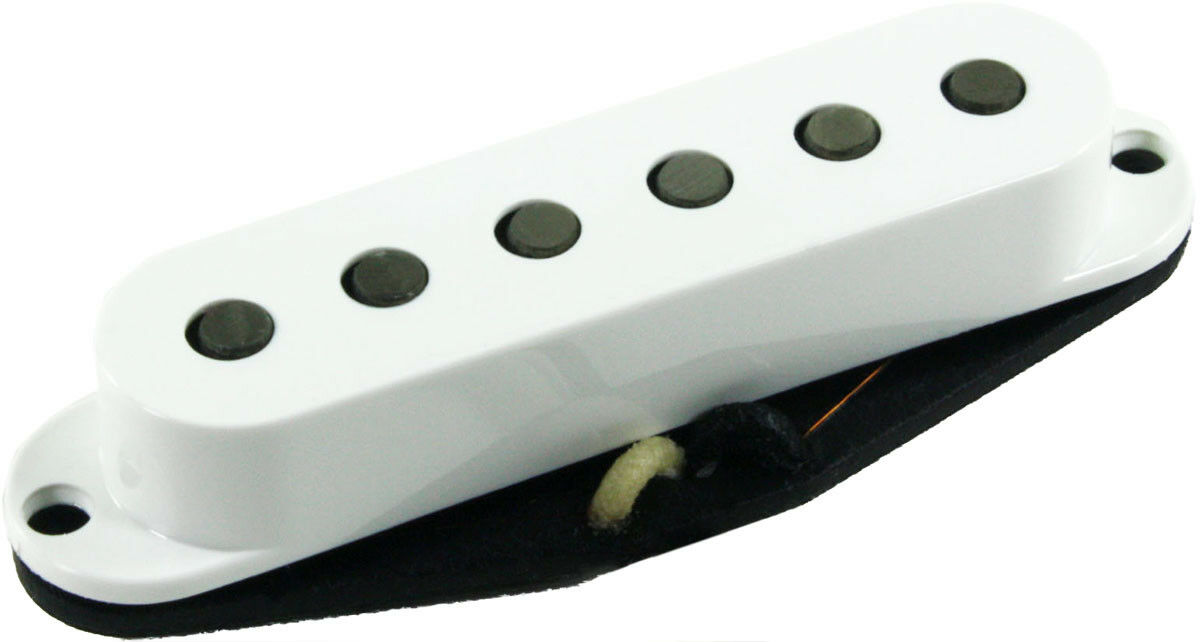 Seymour Duncan SSL-2 Vintage plana plana plana Alnico 5 Strat Pickup Pastillas, blancoo, sin logotipo nuevo 92261f