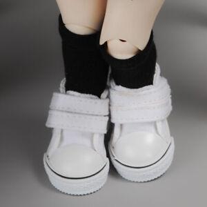 Dollmore Pink Two strap Sneakers 1//6 BJD shoes YOSD USD Dear Doll Size