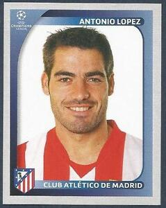 7f2196aaeca27 PANINI UEFA CHAMPIONS LEAGUE 2008-09-  084-ATLETICO MADRID-ANTONIO ...