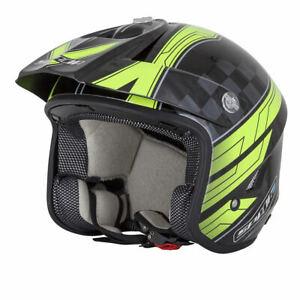 Spada-Edge-Explorer-Open-Face-Motorcycle-Motorbike-Trials-Helmet-Black-Fluo