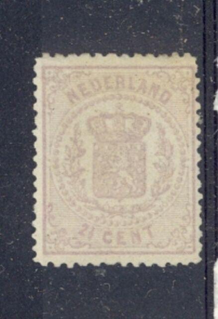 Netherlands Scott 22 Mint hinged - Catalog Value $475.00