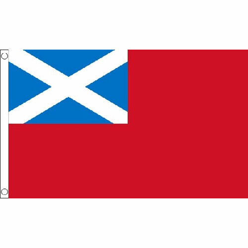 Scottish Red Ensign Flag 5Ft X 3Ft Scotland Navy Naval Banner With 2 Eyelets New