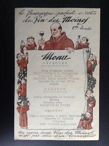 Menu Publicité Bourgogne Paul Court