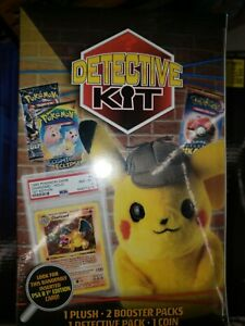 Pokemon Detective Kit Pikachu Plush Doll Randomly Inserted Psa