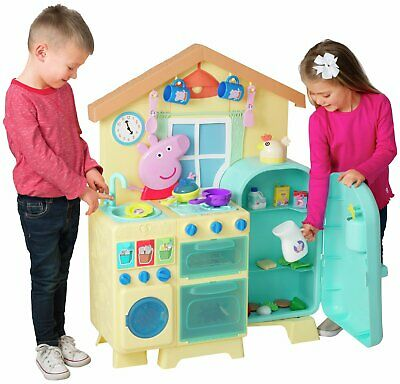 Peppa Pig House Kitchen With Accessories Ebay