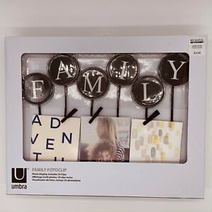 Umbra Family Fotoclipc - Photo Display - Includes 24 Clips