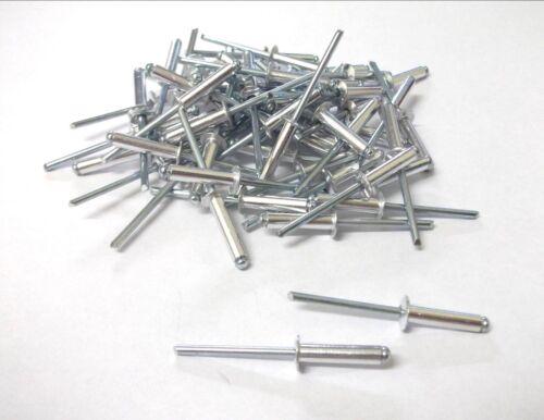 Top Quality Details about  /Aluminium pop rivets Blind rivets 4mm x 12mm Pack of 25