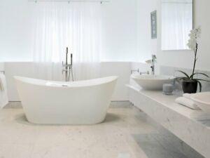 Vasca Da Bagno Acrilico : Vasca da bagno freestanding ovale in acrilico bianco antigua ebay