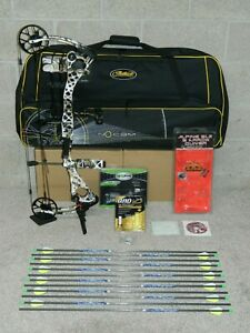 Loaded LEFT Handed Mathews HTR NoCam Bow Package- No Cam - 60 to 70 lb -Many Dl