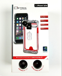 promo code a72dc 2f5f6 Details about XD Waterproof Case Optrix 2 Lens Action Camera Kit for iPhone  6/6s +1 Bonus Item
