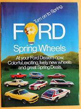 Mag Print Ad 1977 Ford Pinto Thunderbird Mustang LTD Ranger Granada F-150 etc