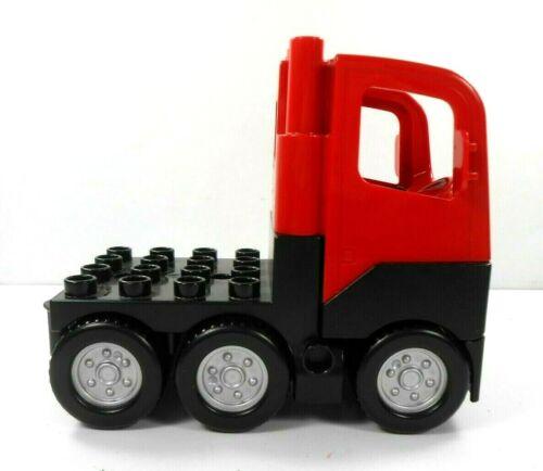 Lego Duplo Item Truck 6 Wheel red//black