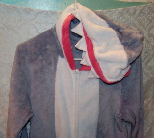 One Piece Pj Soft L Shark 12 Pjamas Peluche Secret Zip Treasures 14 Costume gH0q8xZw