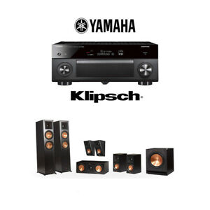 Klipsch-RP-6000F-7-1-Home-Theater-System-with-Yamaha-AVENTAGE-RX-A2080-Receiver