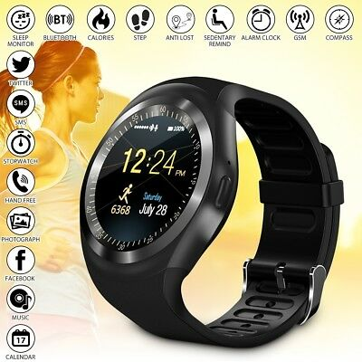 Smartwatch Band Reloj Inteligente Bluetooth Impermeable Mate Para Android Y1 Nue