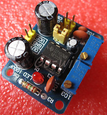 1pcs NE555 Square Wave Duty Cycle and Frequency Adjustable Module